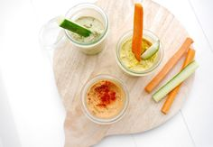 3x gezonde groentedip