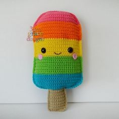 kawaii popsicle amigurumi pattern