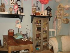 love my tim holtz cabinet, Kimberly Congdon