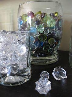 Gem jars for rewarding positive behavior
