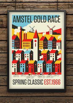 afc804e485 Amstel Gold Race by Neil Stevens Print Shop Bicycle Shop