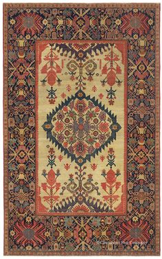 An example of Tier 5 rug: Ferahan, early-19th Century
