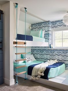 beach cottage ideas Check out these photos of teen boy bedrooms from to get inspiration on decorating your son's room. Beach Bedroom Decor, Beach House Bedroom, Bedroom Themes, Beach House Decor, Home Bedroom, Beach Cottage Bedrooms, Beach Themed Bedrooms, Beach Home Decorating, Bedroom Decorating Ideas