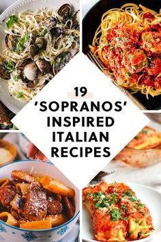 19 'Sopranos'-Inspired Italian Recipes That Carmela Would Love - 19 'Sopr. - 19 'Sopranos'-Inspired Italian Recipes That Carmela Would Love – 19 'Sopranos'-Inspired - Italian Dinner Recipes, Best Italian Recipes, Italian Pasta Recipes Authentic, Italian Foods, Italian News, Sicilian Recipes, Fall Recipes, Beef Recipes, Cooking Recipes