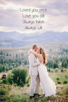 Loved you once, love you still. Always have, always will. www.gracetheday.com