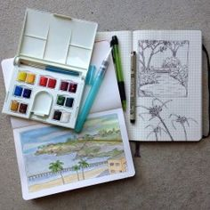Feed your creative soul.... with a sketchbook!