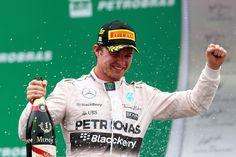 Rosberg dice se siente privilegiado por tener el mejor coche de la parrilla