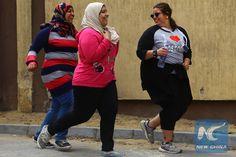 First ever marathon for plus size women