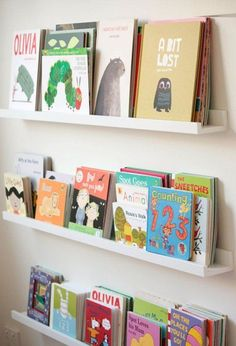 Making your own book ledges is very easy and you can make your ledges any length you want. Keep the width of the shelf to 100mm or less, as anything larger than this will require more support.