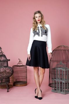 Lela Rose | Pre-Fall 2014 Collection | Style.com