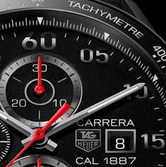 TAG Heuer Carrera Calibre 1887 Racing Chronograph - 43mm | Watch for Men | TAG Heuer Watches