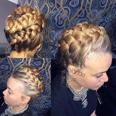 "129 Likes, 8 Comments - Salon VANITYbyKL (@vanity_bykrislee_salon) on Instagram: """"Halo beauty braid"" #halobraid #halo #braid"""