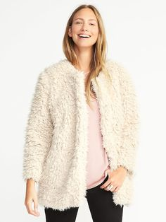 Faux-Fur Coat for Women