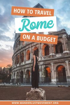 Is it possible to travel Rome on a budget? Here's everything you need to know to save money on a budget-friendly trip to Rome, free and cheap things to do in Rome, Italy as well as how much a trip to Rome actually costs. Italy Travel Tips, Rome Travel, Asia Travel, Budget Travel, Travel Destinations, Travel Hacks, Travel Ideas, Europe Budget, Travel Sights