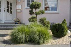 Side Garden, Garden Architecture, Front Yard Landscaping, Landscape Design, Terrace, Entrance, New Homes, Backyard, Exterior