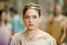 """Alexa Davalos stars as Andromeda in """"Clash of the Titans"""" (Ancient Greek) Popular Actresses, Female Actresses, Greece Costume, Ancient Greek Costumes, Wrath Of The Titans, Alexa Davalos, Alexa Vega, Greek Gods And Goddesses, Poster"""