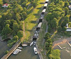 Bergs slussar - Göta kanal