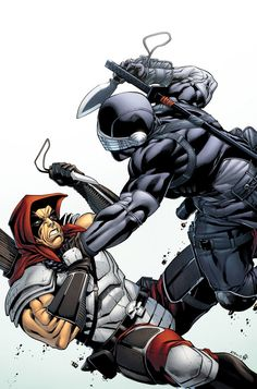 Snake Eyes Storm Shadow 16 Variant Cover by *spidermanfan2099 on deviantART