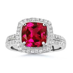 Ruby ring- Art Deco