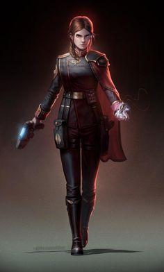 Warhammer 40k Art, Warhammer Fantasy, Female Character Design, Character Drawing, Character Sheet, Cyberpunk, Knight Art, Sci Fi Characters, Portraits