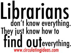 Circulating Ideas: the Librarian Interview Podcast by Steve Thomas — Kickstarter Library Memes, Library Quotes, Library Lessons, Librarian Humor, Teacher Librarian, Library Science, Library Activities, Reading Library, Library Books