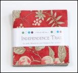 Independence Day Charm Pack by Minnick & Simpson for Moda