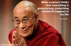 Right you are Dalai Lama
