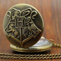 Retro Hogwarts pocket watch by Trendy Gear