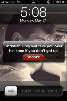 Better get up! @Kaitlyn Cramer this is how I will wake up every morning at school now...