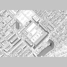 Magnet. Masterplan for a new residential development, Bienne, 2014