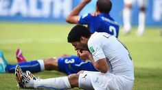 Luis Suarez will likely face harsh punishment if found guilty of biting Giorgio Chiellini in Uruguay's 1-0 win over Italy.