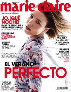 Revista #MARIECLAIRE, #julio 2015. #RachelMcAdams en portada. El #verano perfecto. #Fitness 24x7. Ideas de #estilo para #fiestas memorables.