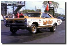 The famous GeeTO Tiger - Drag Racer -on the drag strip.