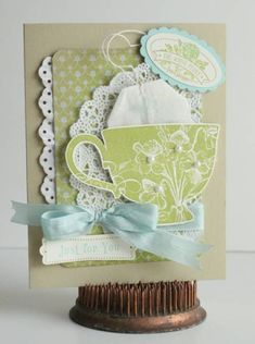 Tea Shoppe, lucky limeade and pool party - Just For You by sweetpeas - Cards and Paper Crafts at Splitcoaststampers