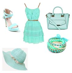 Mint by grace-woerner on Polyvore featuring polyvore, fashion and style