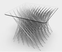 Daniel Widrig | Twisted Side Table, 2010