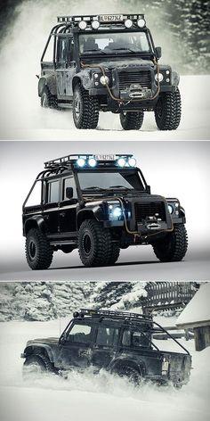 Land Rover Defender Spectre: