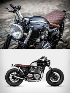 Triumph Bonneville by Down & Out