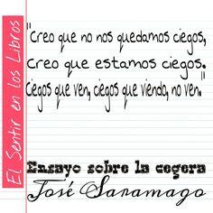 Homenaje a José Saramago  #ElSentirEnLosLibros #Libros #JoseSaramago #Lectura #Reading #Books