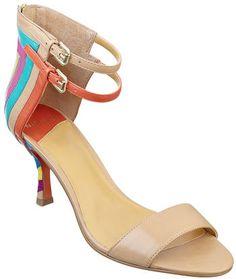 #NineWest                 #Women #Shoes             #sandal #sole #ankle #closure #zipper #pop #double #single #color             QIANNA                    Double ankle buckle single sole 3 sandal with a pop of color . Back zipper closure                      http://pin.seapai.com/NineWest/Women/Shoes/1068/buy