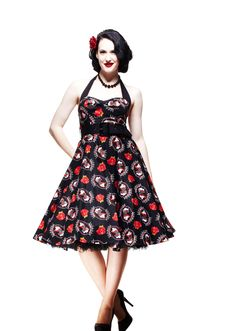 Hell Bunny Fortuna Dress - LOVE!!! Hell Bunny dresses are so cute.