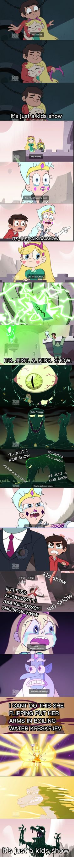 It's just a kids show |Star vs the Forces of Evil| Made by @livieblue