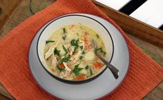 Crockpot Chicken and Potato Dumplings - Potato Gnocchi Dumplings - Megan's Cookin'