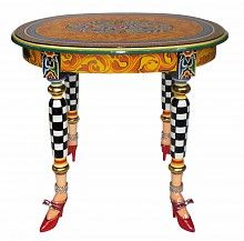 Toms Drag Tables - oval Side table Versailles Collection