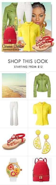 """""""Journi's Summer and Fall Outfit"""" by carmen-ireland ❤ liked on Polyvore featuring STELLA McCARTNEY, Nina Ricci, Celebrate Shop, Betsey Johnson and MICHAEL Michael Kors"""
