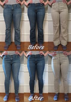 Skinnies - Before & After by nosmallfeet, February 2014