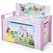 Disney Princess Deluxe Toy Box Bench