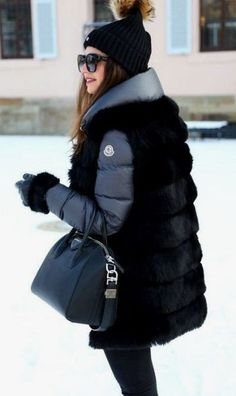 gehaltene Look-Winter Moncler Jacke-Hose-edited - Winter Mode Winter Outfits For Teen Girls, Cozy Winter Outfits, Winter Fashion Outfits, Autumn Winter Fashion, Fall Outfits, Outfit Winter, Winter Clothes, Winter Wear, Best Winter Jackets