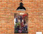 Placa Decorativa Mdf Os Vingadores The Avengers, Hand Crafts