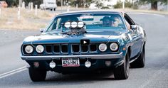 Awesome 686hp Plymouth HEMI Cuda Street Machine